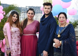 GURPREET KAUR CHADHA CELEBRATED HER MOTHER SHRI INDERJIT KAUR'S BIRTHDAY AMIDST FAMILY AND FRIENDS