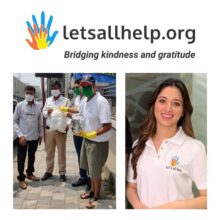 Actress Tamannaah Bhatia And Letsallhelp.Org Extends  Support To Migrant  Workers  In Mumbai