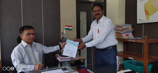 Jagadguru Narendracharya Maharaj Sansthan  Nanijdham Contributes 1 Crore 2 Lacs Towards Relief Funds To combat Covid-19 Pandemic