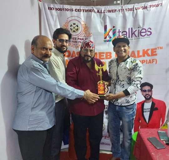 Dadasaheb Phalke Icon Award Films KALYANJI JANA Presents Free Food Distribution