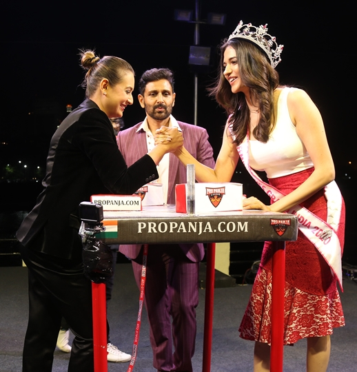 Celebs – Miss India Beauties – Dignitaries Grace Pro-Panja League Tournament At Radio Club  Mumbai