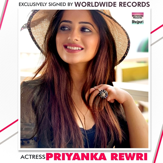 Priyanka Rewri Exclusively Signed By Worldwide Records