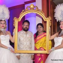 Ronnie Rodrigues Hosted A Party On The Occasion Of 25th Wedding Anniversary Of Mr B Venkatesh Prasad and Mrs H Kamalakshi  At JW Marriott Juhu