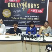 A unique Reality Show  Hum Hain Gully Guys Boys and Girls  Was Launched At The Press Club of Mumbai